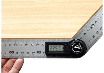 200mm Thước đo góc điện tử Shinwa 62495