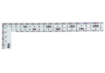 25x50cm Thước eke vuông Shinwa 11481