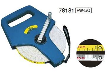 50m Thước cuộn sợi thủy tinh Shinwa FW-50 78181