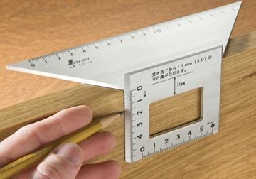 Thước đo cạnh xéo Shinwa 62114