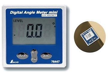 Thước đo nghiêng điện tử có nam châm Shinwa 76447